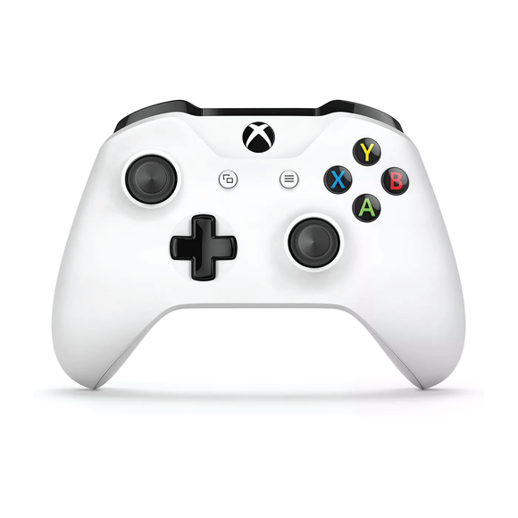 White Microsoft Wireless Controller for Xbox One - Front