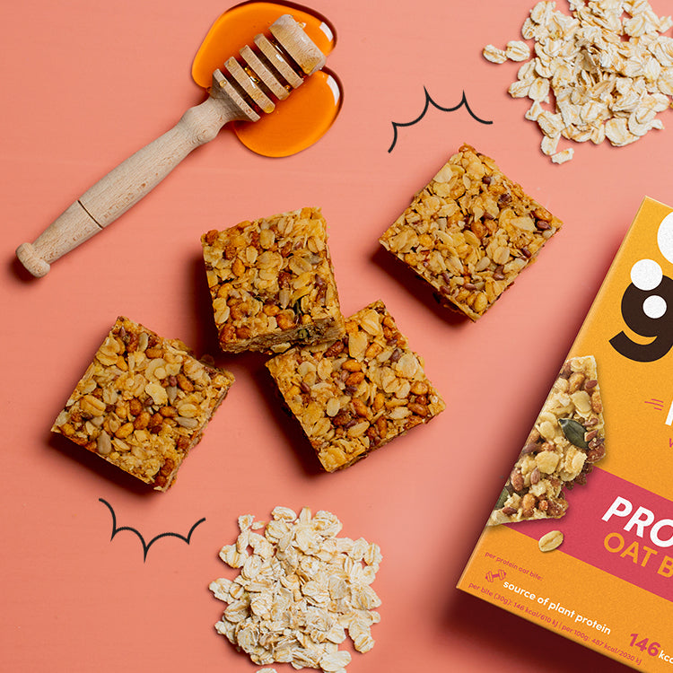 honey and oats protein bites