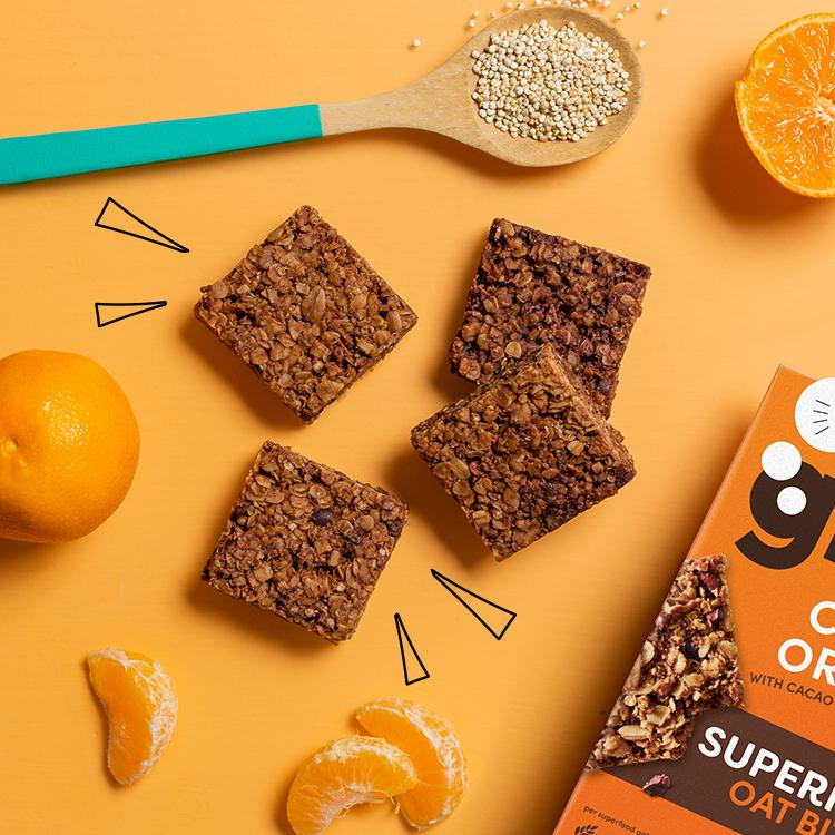 cocoa orange superfood bites