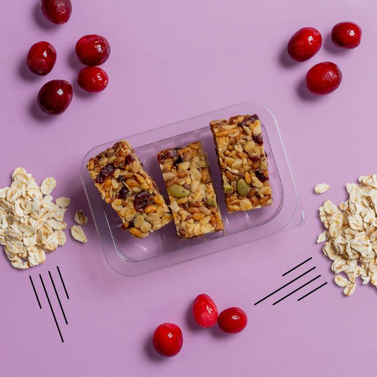 graze berry protein flapjack multipack