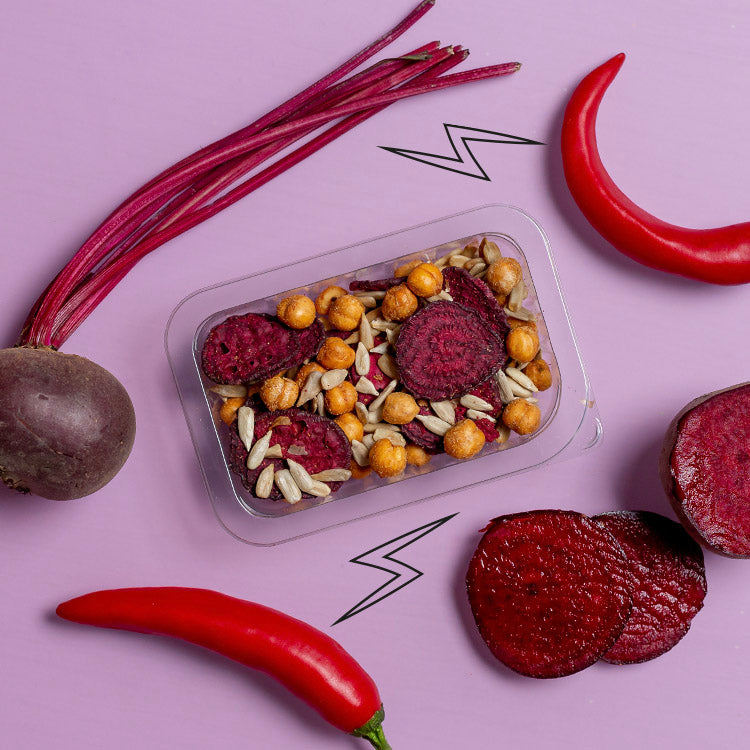 sweet and spicy beetroot crunch multipack
