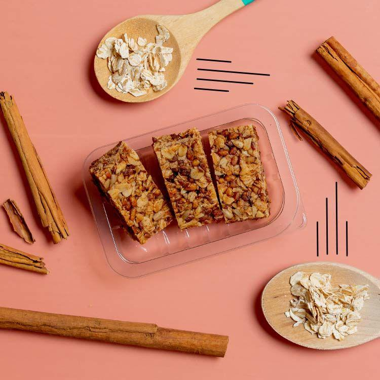 graze cinnamon protein flapjack multipack