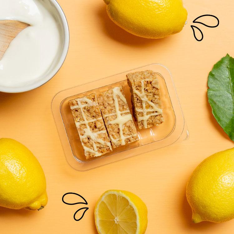 lively lemon flapjack multipack