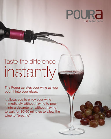 Image of Poura Wine Aerator Pourer Spout