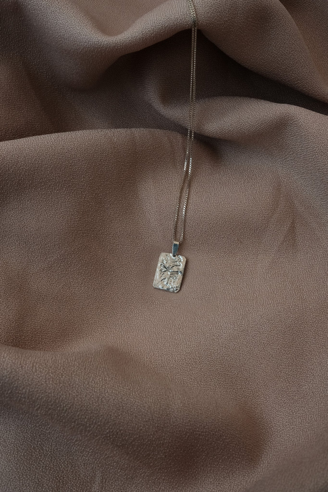 RECTANGULAR CHARM necklace N°1