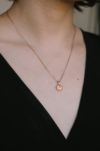 ROUND CHARM necklace N°1