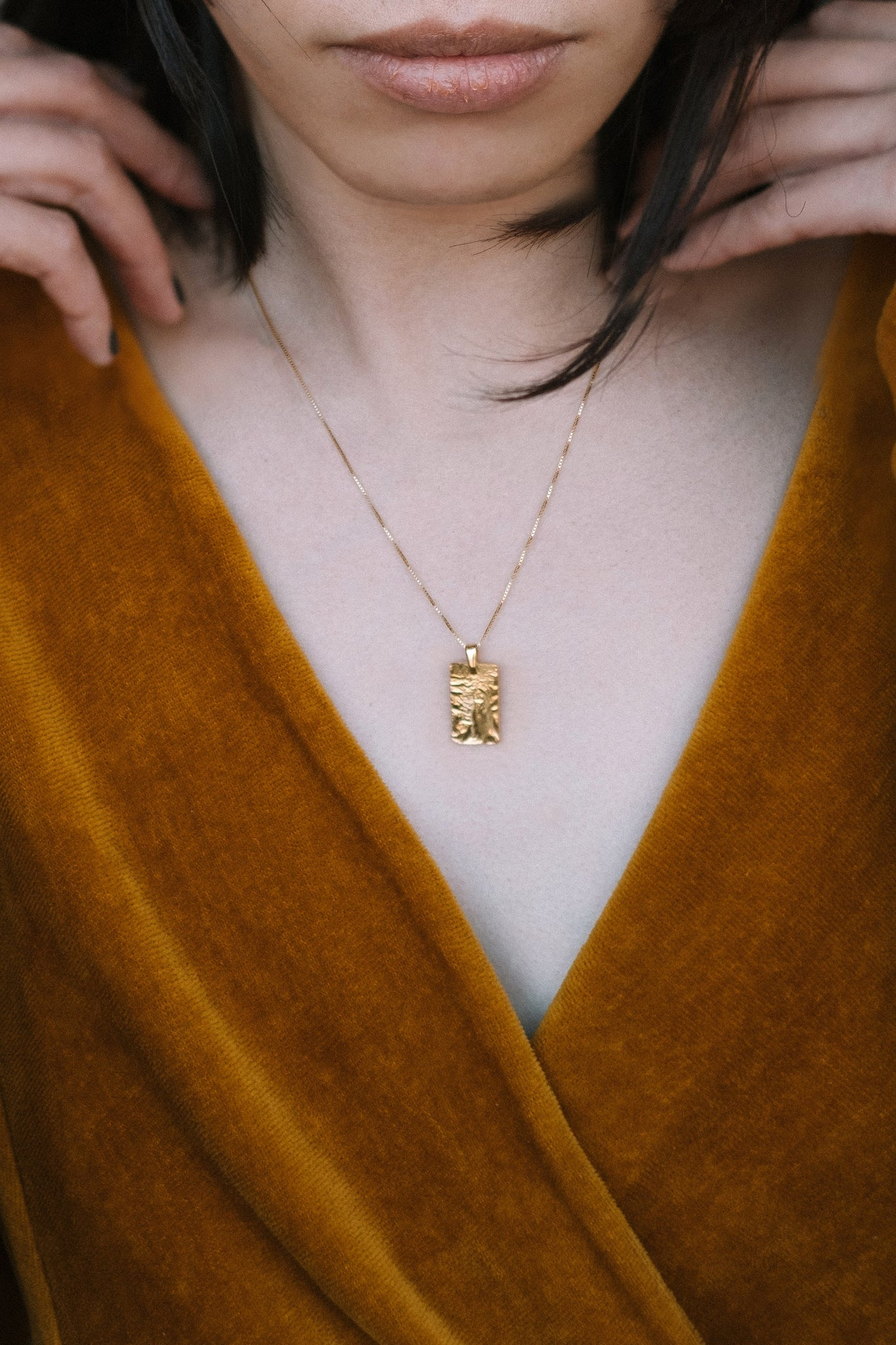 GOLDEN CHARM necklace N°3