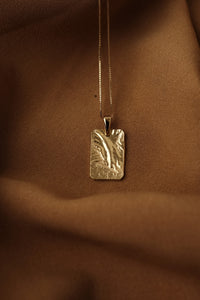 RECTANGULAR CHARM necklace N°3 (L)