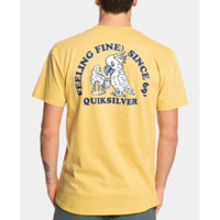 Quiksilver Mens Feeling Fine Graphic T-Shirt