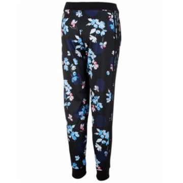 Adidas Girls Black Printed Tricot Joggers Various Sizes, Colors
