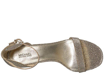 Michael Michael Kors Margot Platform Dress Sandals - Silver Sand
