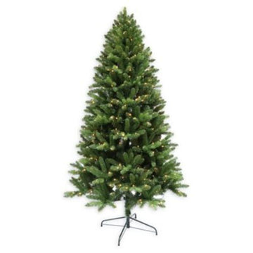 Winter Wonderland 6.5 Tacoma Pine Artificial Christmas Tree - Green