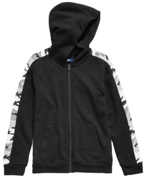 Univibe Big Boys McCartney Full-Zip Hoodie, Various Sizes, Colors