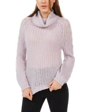 Planet Gold Juniors Cowl-Neck Sweater, Choose Sz/Color