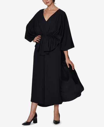 Inspr X Natalie Off Duty Wide-Leg Jumpsuit with Cinched Waist
