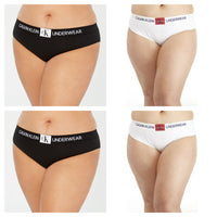 Calvin Klein Plus Monogram Bikini Various Sizes, Colors