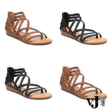 Carlos by Carlos Santana Amara Strappy Sandals Womens Shoes Various Sizes, Colo