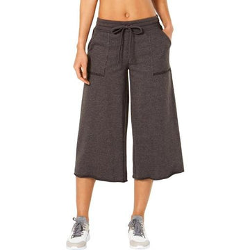 Ideology Womens Cropped Wide-Leg Sweatpants Various Sizes, Colors