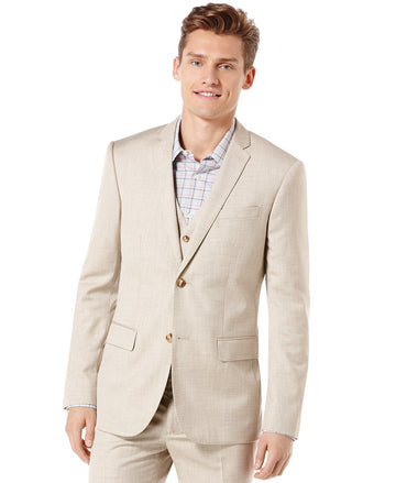 Perry Ellis Textured Blazer,Various Colors & Sizes