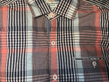Tommy Bahama Mens Uvita Striped Shirt L