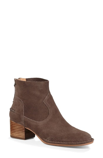 UGG Australia Bandara Back Zip High Ankle Boots, Mysterious, 9.5 US / 40.5 EU