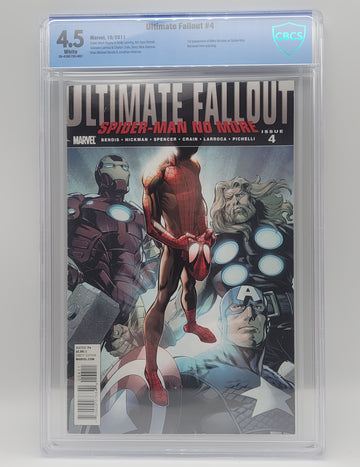 Marvel Ultimate Fallout No. 4, 1st Print, CGC Graded Direct Edition