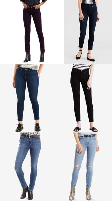 Levis 311 Shaping Skinny Jeans Various Sizes, Colors