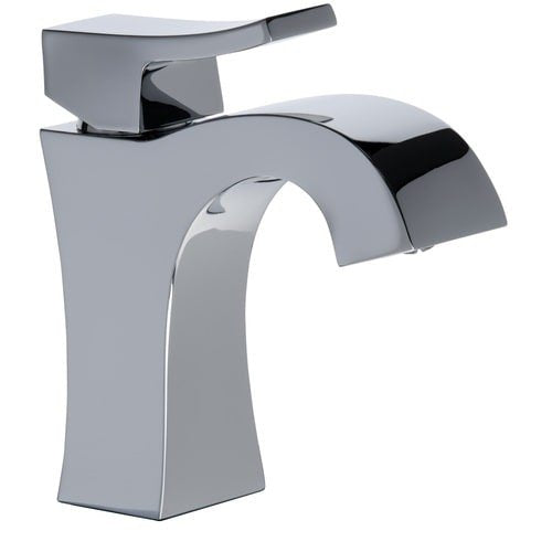 Mirabelle MIRWSCVL100CP Vilamonte 1.2 GPM Single Hole Bathroom Faucet with Pop-Up Drain Assembly