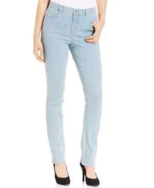 Style & Co Petite Tummy-Control Slim-Leg Jeans,Various sizes, Colors