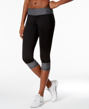 Ideology Womens Workout Coloblock Athletic Leggings