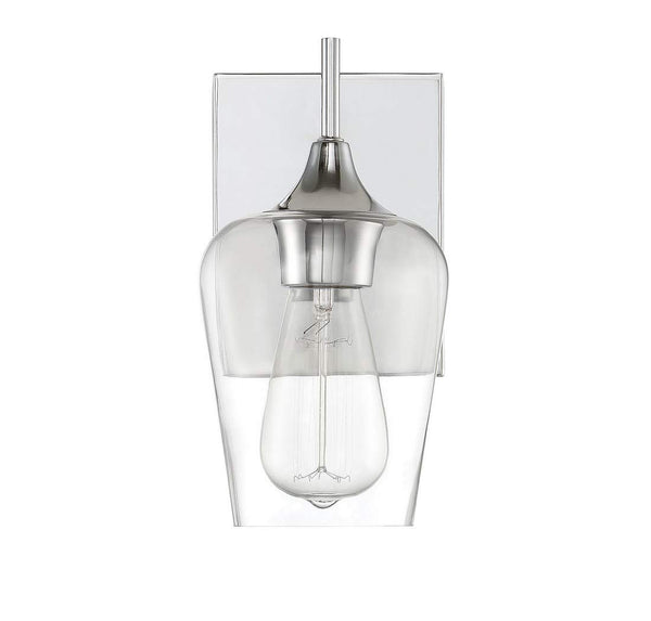Forte 2679-01-55 9 One Light Cord-Hung Glass Mini Pendant, Brushed Nickel Finis