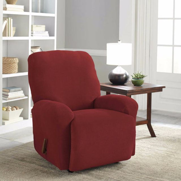 Perfect Fit Easy Fit Recliner Slipcover in Claret $89.99