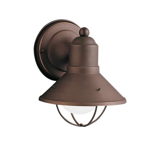 Kichler 9021OZ Seaside Outdoor Wall 1-Light, Olde Bronze