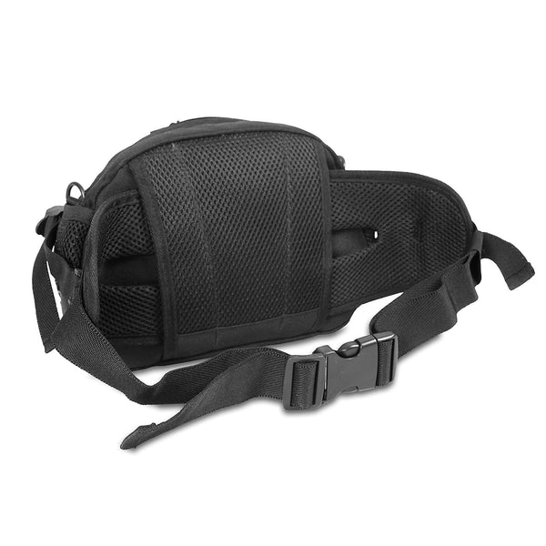 J World New York Pony Waist Bag, Black