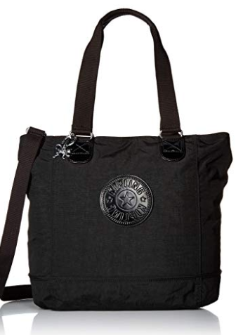 KIPLING TM5500 SHOPPER BLACK COMBO Tote Handbag