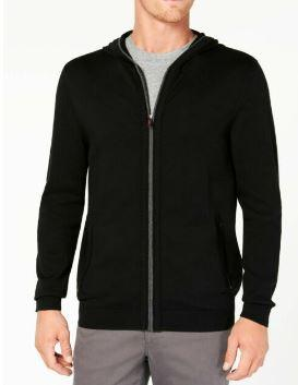 Tasso Elba Mens Zip-Front Heathered Jacket, Choose Sz/Color