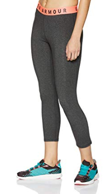 Under Armour Womens Favorite Crop Tights Anthracite XL