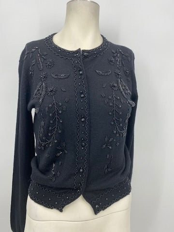 The Limited Beaded Cardigan