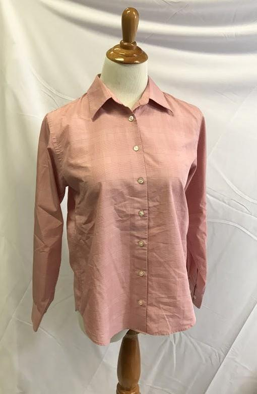 Lands End Womens Button Down Shirt 6 petite