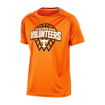Champion  Tennessee Volunteers Boys Short Sleeve Crew Neck Raglan Synthetic