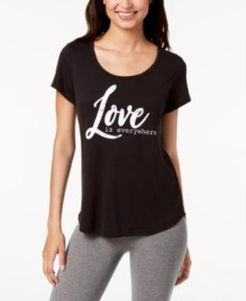 Ideology  Love Graphic T-Shirt Noir,Various Sizes