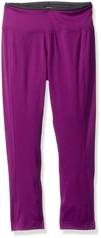 Reebok Speedwick mid-Calf Tight, Aubergine, Small $40