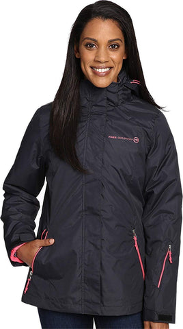 Free Country Women's System Jacket with Lattice Print 1X