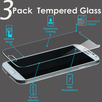 3 PACK EQI585 9H Hardness HD Ultra-thin Tempered Glass Screen Protector