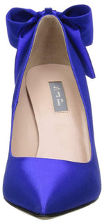 SJP by Sarah Jessica Parker Women's Lucille Pointed Toe Bow Pump 7 US