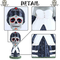 Valery Madelyn 12in Tall Skeleton Bride and Groom Couple
