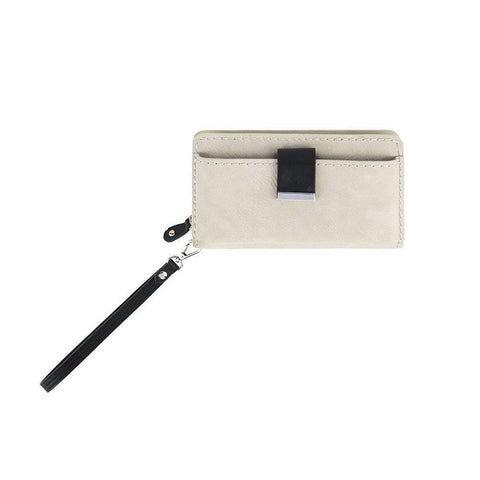 NWT Shiraleah Chicago Wristlet, Wallet, Ash