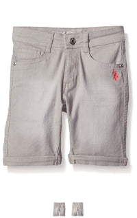 U.S. Polo Assn. Big Girls' Twill Bermuda Short,Various Colors & Sizes