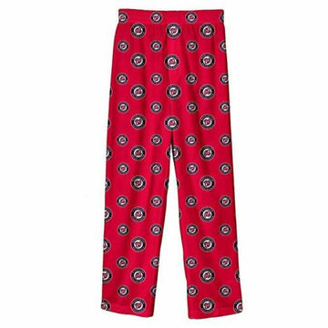 MLB Infant/Toddler Boys' Washington Nationals Printed Pant, Red, 3T
