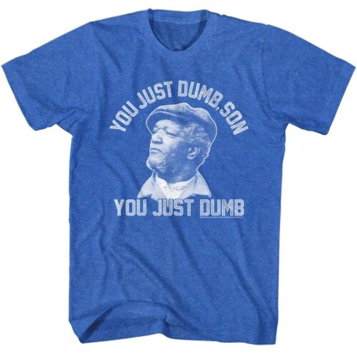 Redd Foxx 1970s You Just Dumb Comedy Sanford and Son Sitcom Adult T-Shirt Tee small